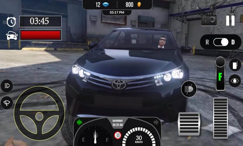 赛车模拟 APP截图