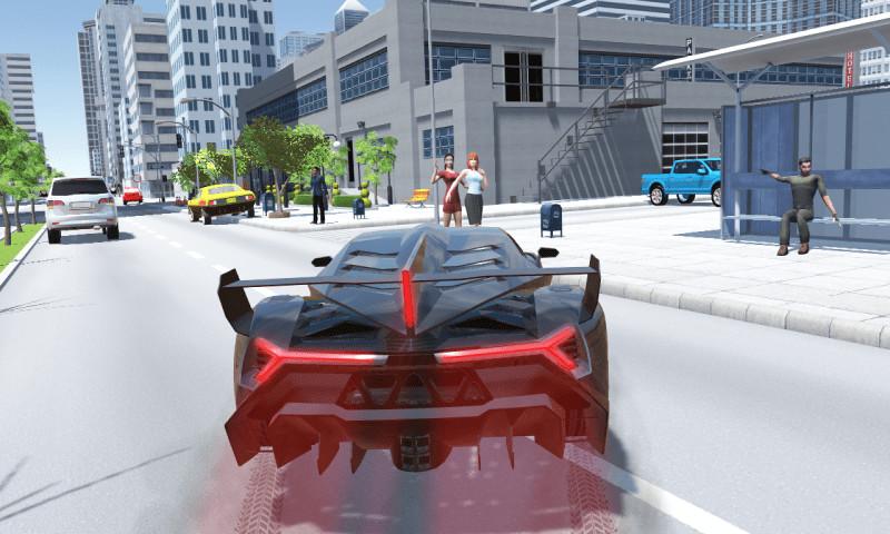 兰博汽车模拟器 APP截图