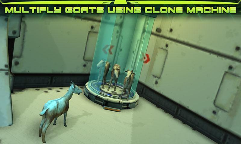 模拟太空山羊 APP截图