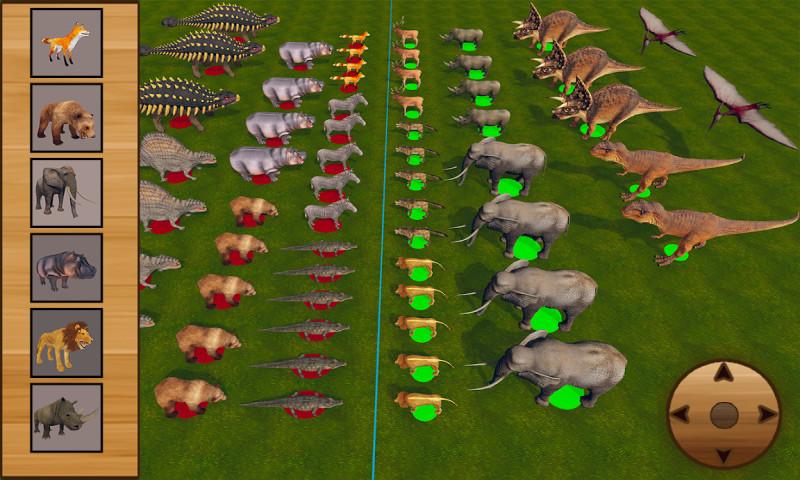 终极动物战斗模拟器 APP截图