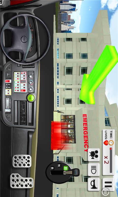 3D医用救护车 APP截图