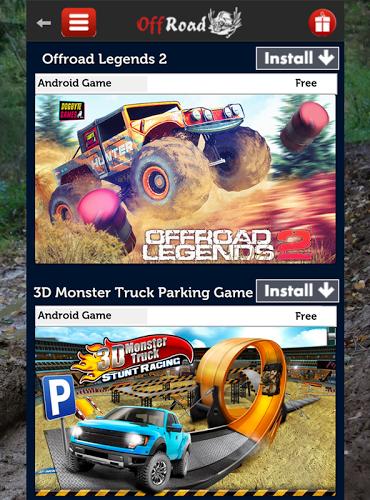 Offroad Racing Games APP截图