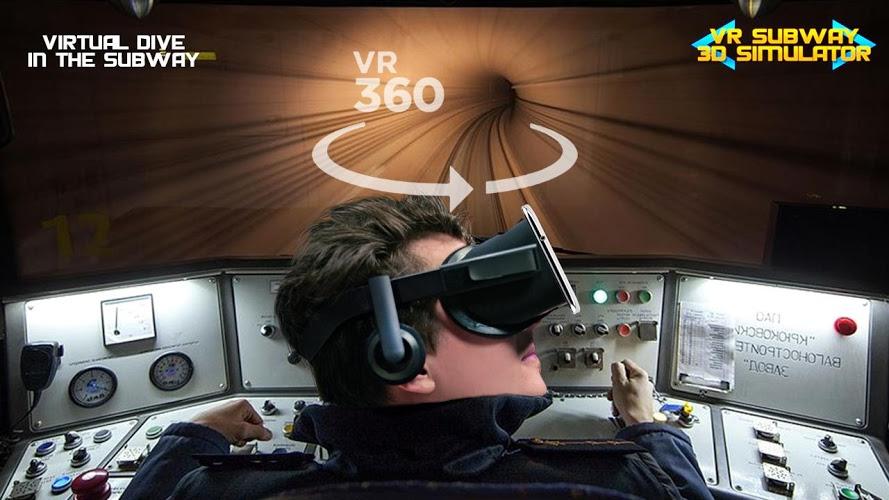 VR地铁3D模拟器 APP截图