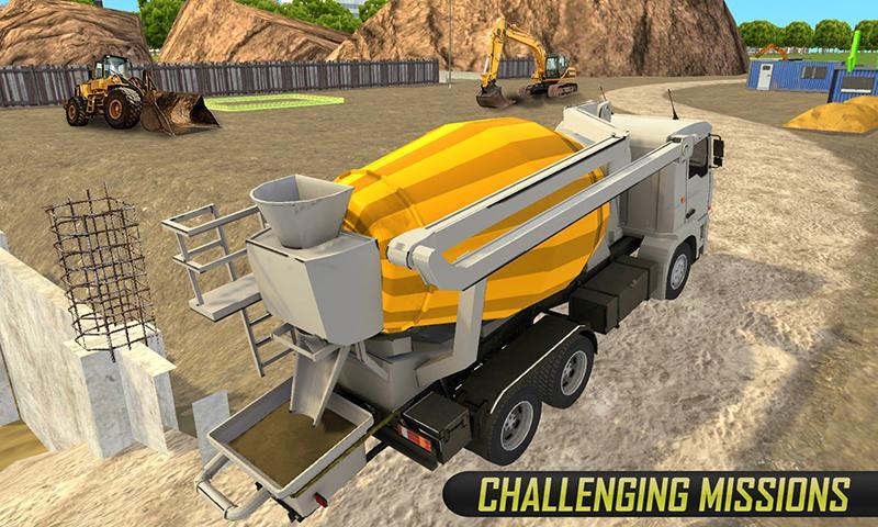 真正的货物建筑卡车 APP截图