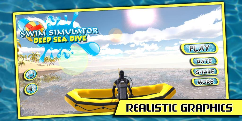 深 游泳的 3D APP截图