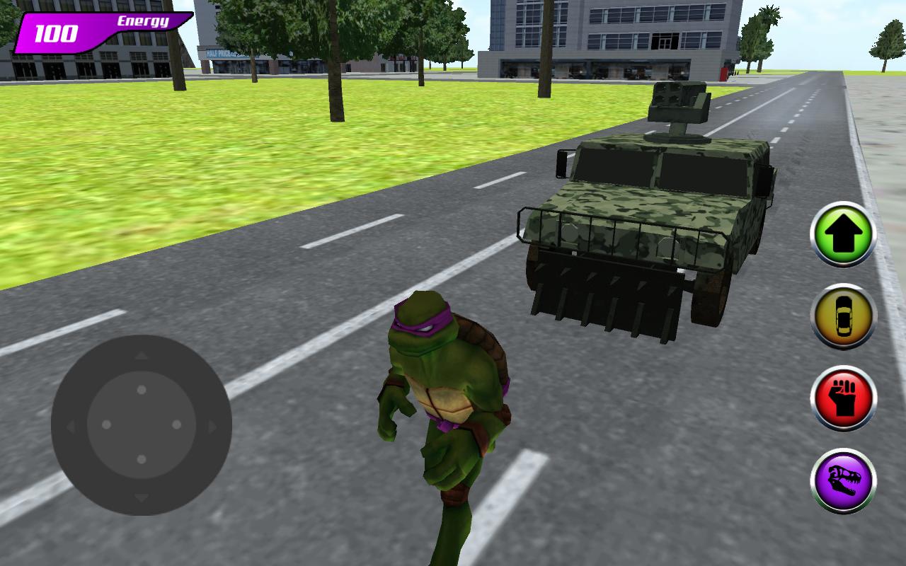 Shadow TURTLE Hero : GT Resque APP截图