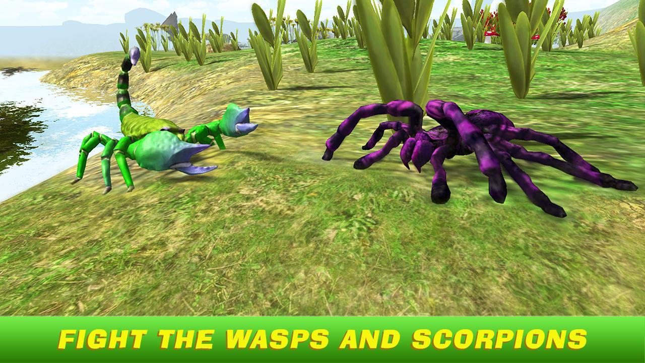 Tarantula Simulator 3D APP截图