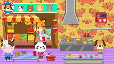 Pretend Pet Supermarket Town Animal Mall Shopping APP截图