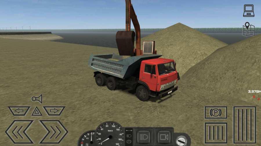 卡车运输模拟 APP截图