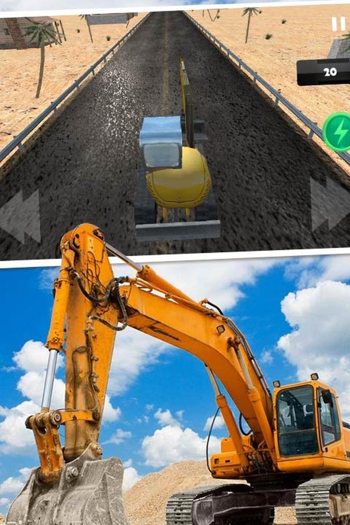 模拟驾驶挖掘机3D APP截图