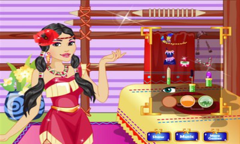 公主化妆游戏 APP截图