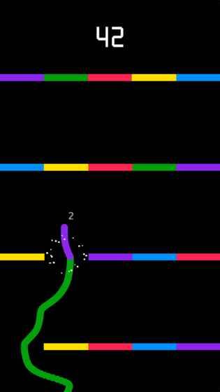 贪吃蛇vs色彩 APP截图