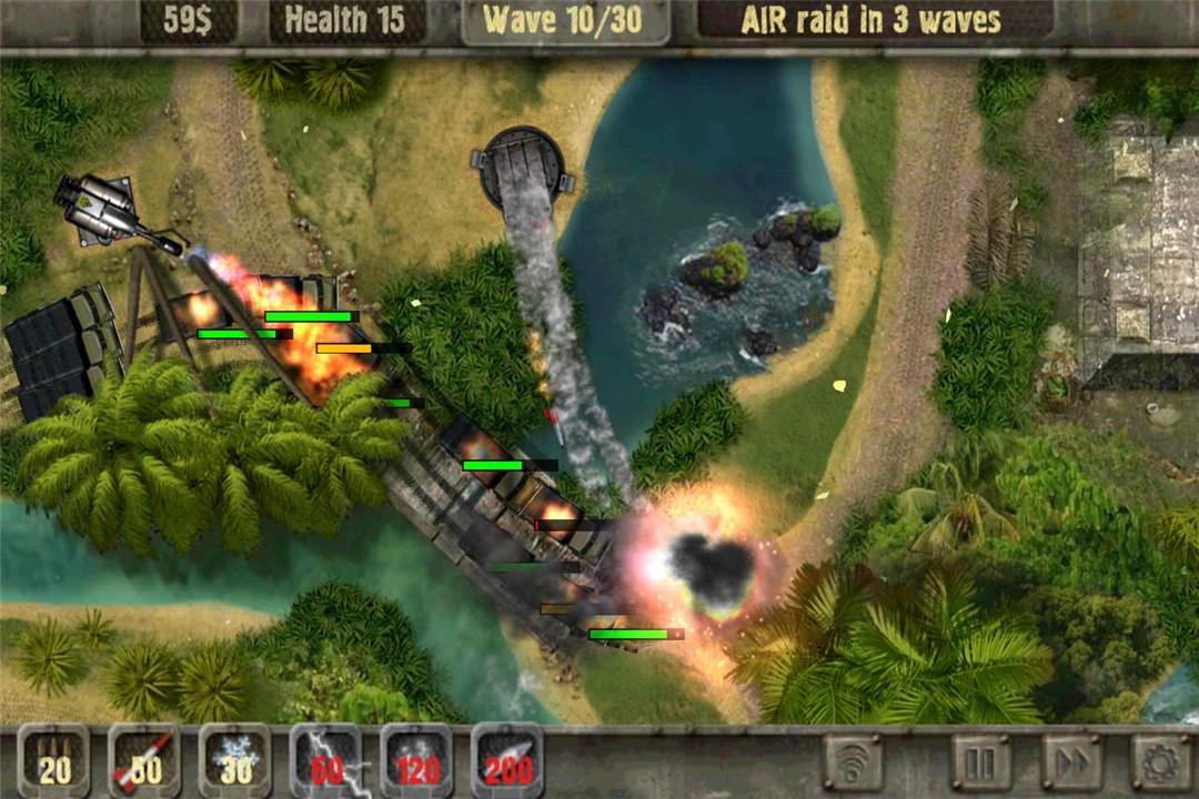 战地防御:2 APP截图