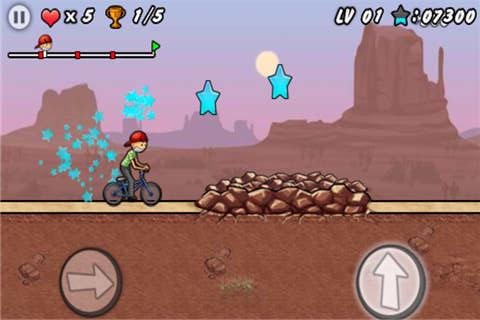 单车男孩酷跑 APP截图