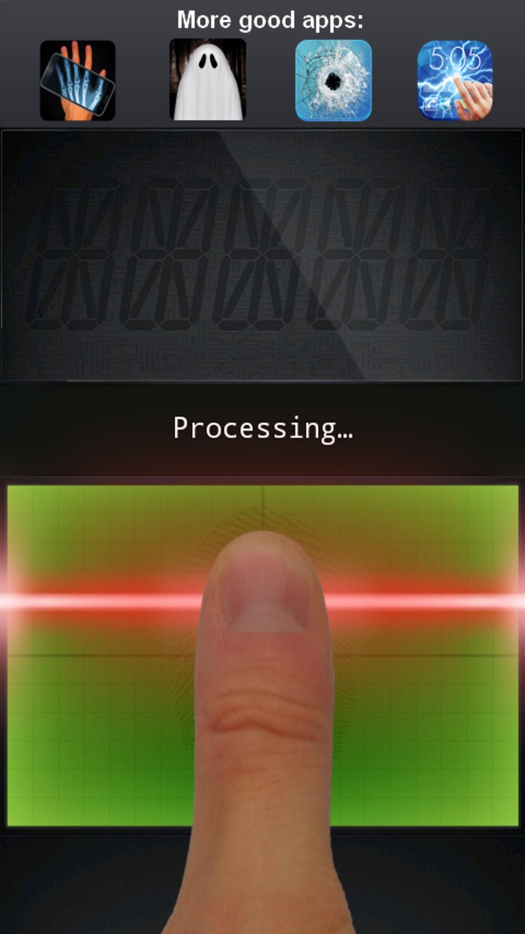 Finger Lie Detector Prank APP截图