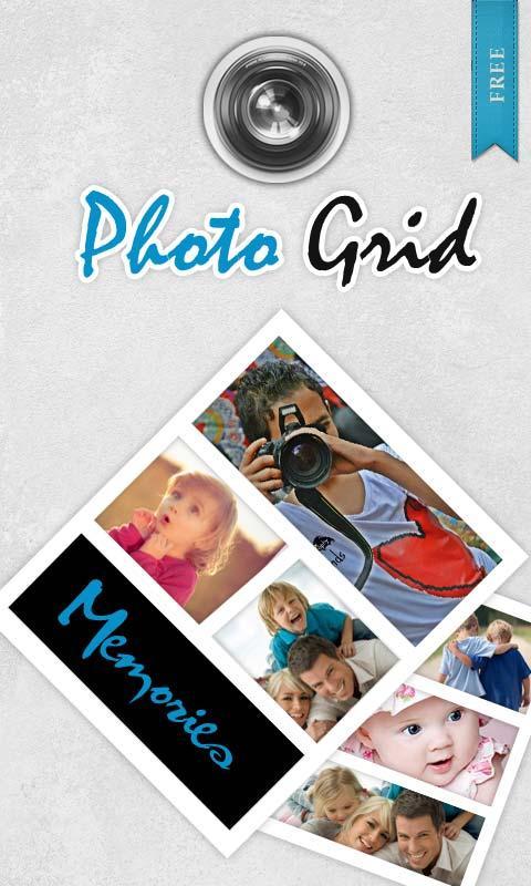相片组合PhotoGrid APP截图
