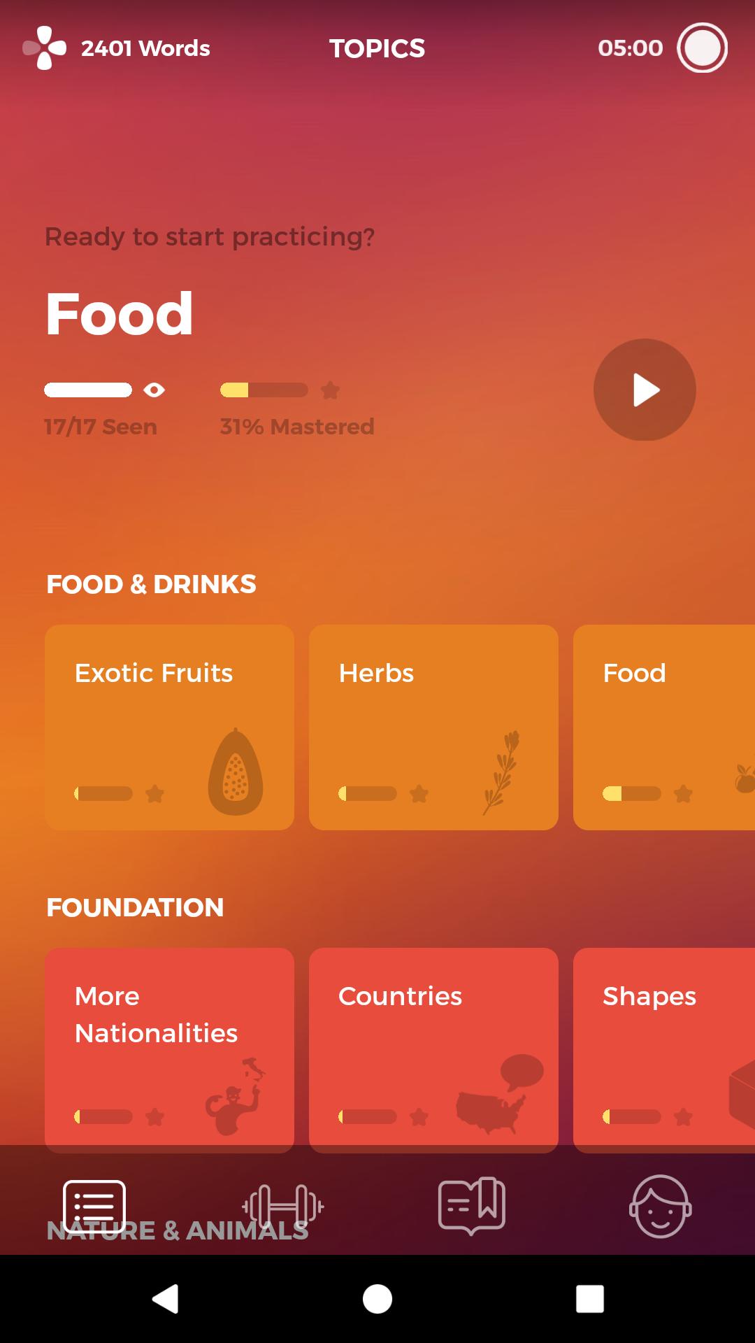 Drops: Learn 32 new languages APP截图