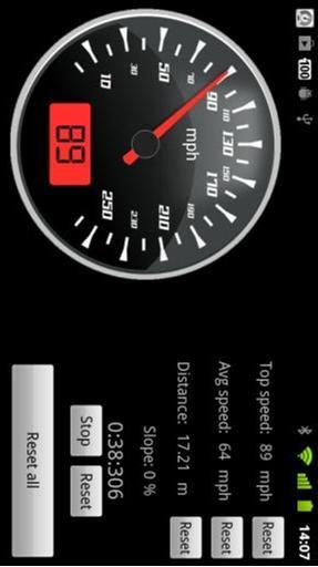 车速表计 APP截图