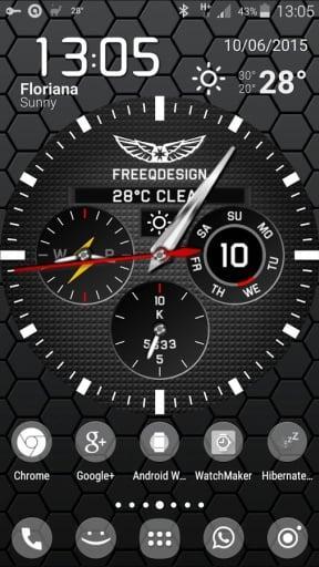 手表表盘动态桌面:WatchMaker Live Wallpaper APP截图