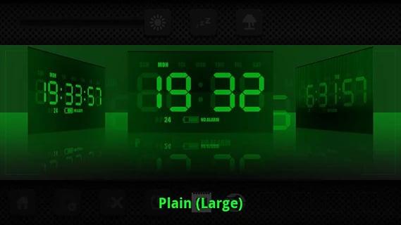 夜光数字时钟 APP截图