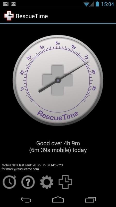 RescueTime APP截图