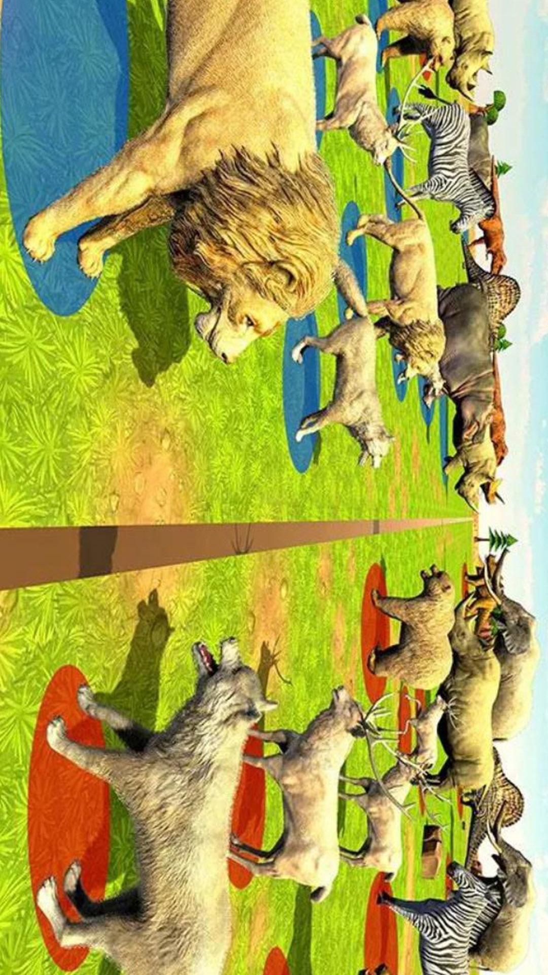 模拟动物联盟 APP截图