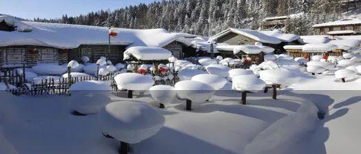 又来?省气象台发布中到大雪天气预报,哈尔滨局部有暴雪!还要大降温!