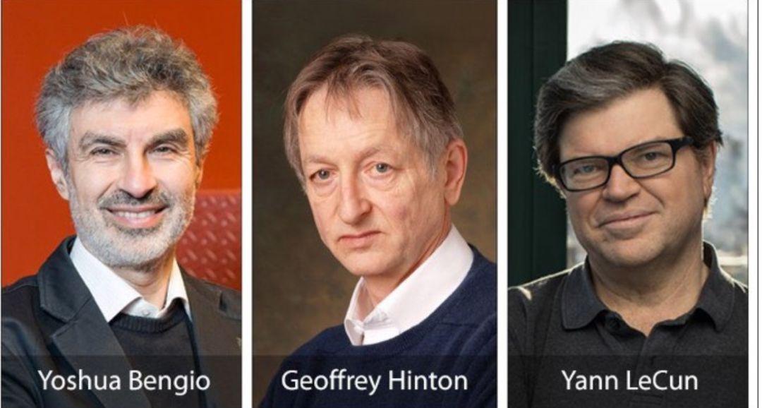 Y.Bengio、G. Hinton、Yann LeCun 获2018图灵奖