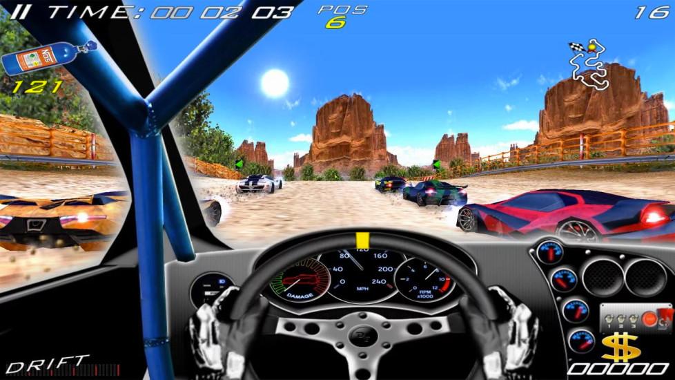极品赛车单机游戏 APP截图