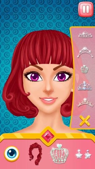 公主魔幻化妆沙龙 APP截图