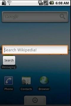 Wiki Search APP截图
