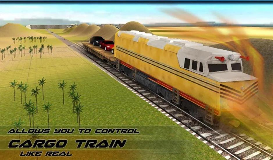 Car Transporter Cargo Train APP截图