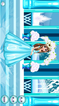 冰雪公主婚礼装 APP截图