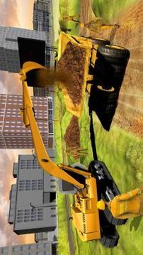 城市桥梁建设游戏2018年:真正的建设者 APP截图