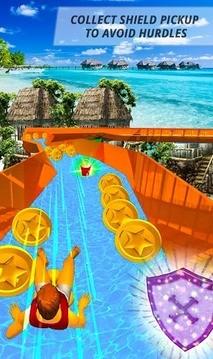 水滑梯海滩冒险 APP截图
