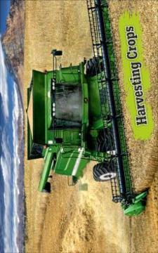 新 拖拉机 农业 游戏 APP截图