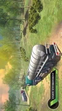 货物越野卡车司机辛:爬坡驾驶 APP截图