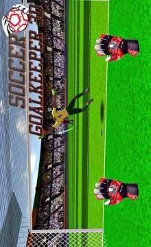 足球守门员3D APP截图