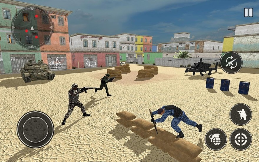 Military Bullet Force: Free Fire FPS Soldier APP截图