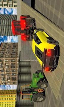 重型拖拉机拉:汽车运输模拟器 APP截图
